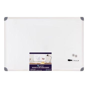 Quartet UKTE2436-W 2' x 3' Magnetic Dry-Erase Board (Euro Frame)