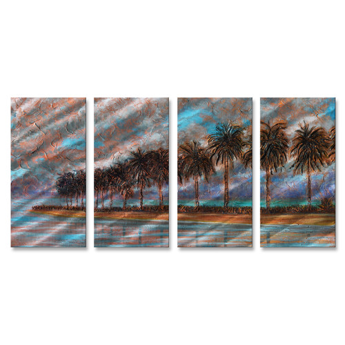 All My Walls Key Light by Steve Heriot 4 Piece Painting Set