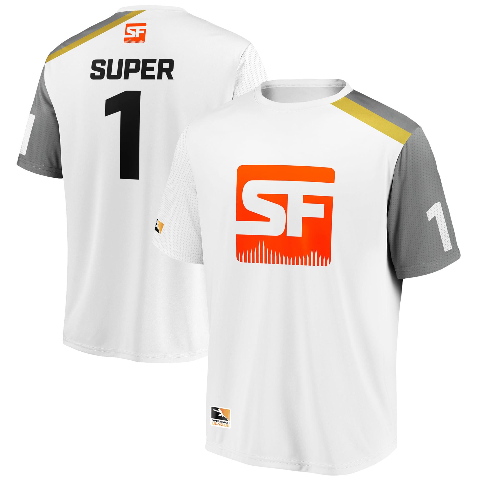 super San Francisco Shock Overwatch League Replica Away Jersey - White