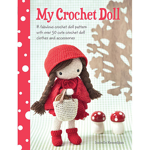 David & Charles Books My Crochet Doll
