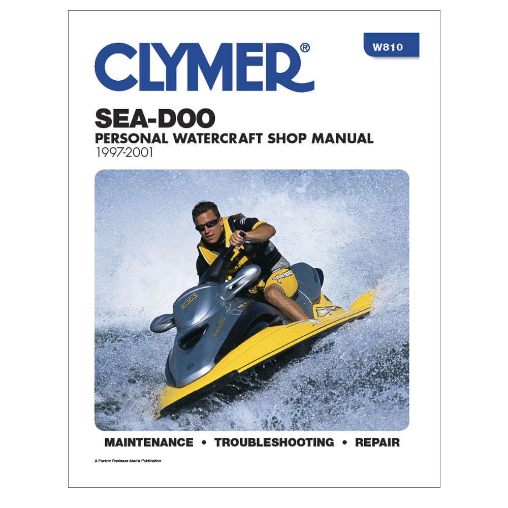 CLYMER SEA-DOO PERSONAL WATERCRAFT 1997-2001