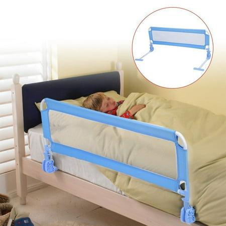 1m Toddler Children Bed Rail Bedside Safety Guard Bedrail Kids Infant Crib Side Protective Prevent Baby