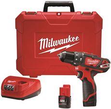 Milwaukee M12 3/8 In. Hammer Drill Kit