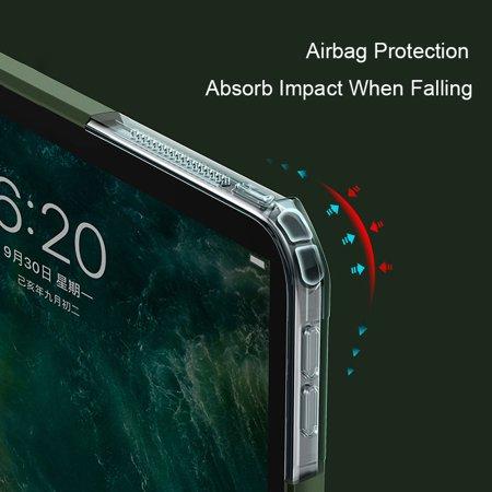 Cribun Ultra Slim Thin Anti-Scratch TPU Rubber Soft Skin Silicone Premium Protective Case Cover for ipad pro 11inch 2020(black) - image 7 of 8