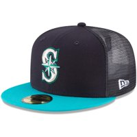 Seattle Mariners New Era On-Field Replica Mesh Back 59FIFTY Fitted Hat - Navy