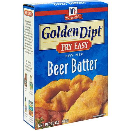 Golden Dipt Beer Batter Seafood Batter Mix, 10 oz (Pack of 12 ...