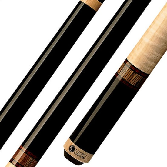 Lucasi Custom LZC12 Pool Cue Stick with Zero Flexpoint Lo...