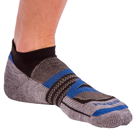 Zensah Wool Running Socks  Merino Zensah Wool Socks for Running, Best Running Socks, Navy, Medium