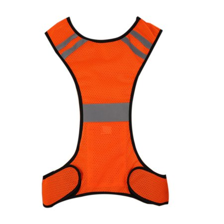 Reflective Night Safety LED Vest Outdoor Sports Running Cycling Safety