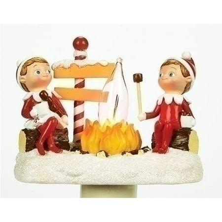 Roman Elf on The Shelf Flicker Night Light with Swivel Plug, 4.5-Inch
