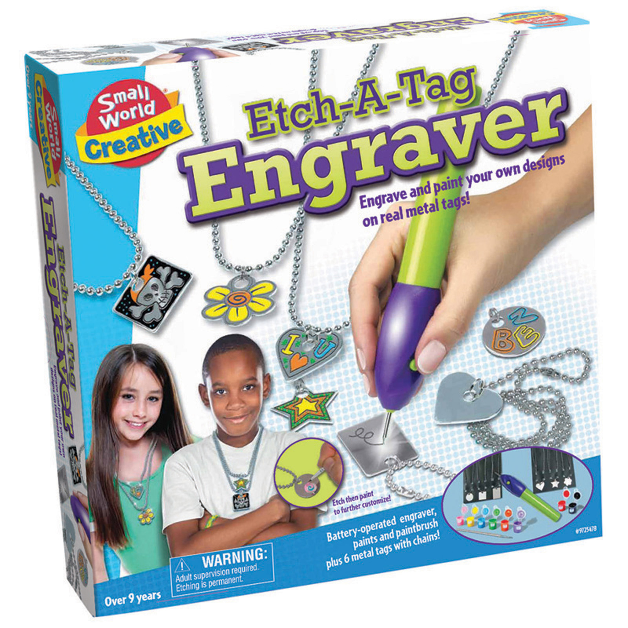 Small World Creative Etch-A-Tag Engraver