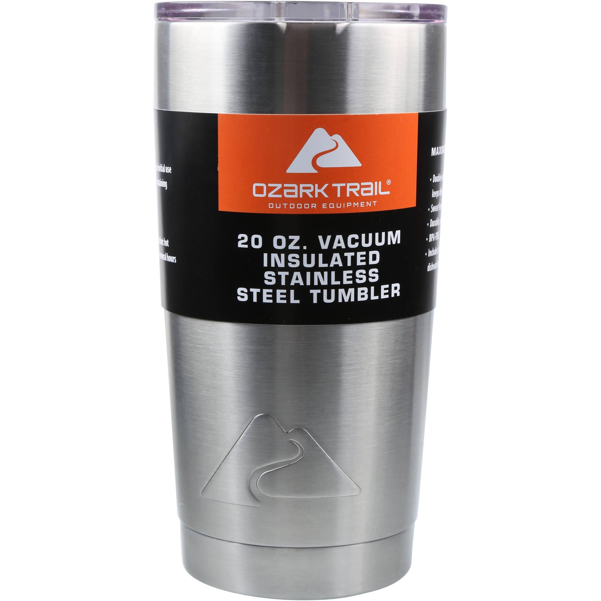 Ozark Trail 20-Ounce Double-Wall, Vacuum-Sealed Tumbler