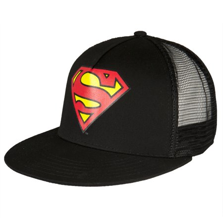 Superman - Glow In the Dark Logo Trucker Cap