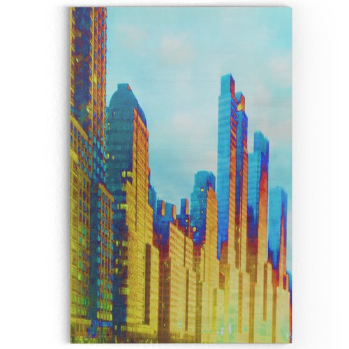 Ivy Bronx 'West Side' Oil Painting Print on Wrapped Canvas