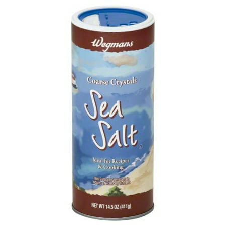 Wegmans Coarse Crystals Sea Salt 145 Oz Walmartcom