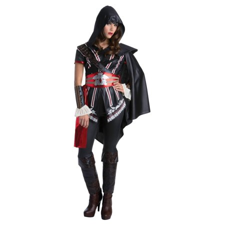 Assassins Creed Ezio Auditore Female (Black Flag Assassin's Creed Costume)
