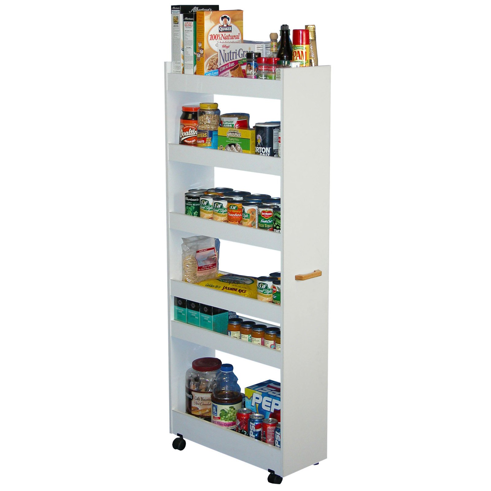 Beautiful 2 Door Pantry, Pine   Walmart.com