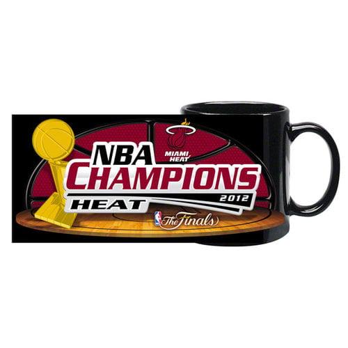 NBA - Miami Heat 2012 NBA Finals Champions 11 oz. Sublimated Black Coffee Mug