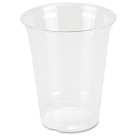 Genuine Joe Clear Plastic Cups - 12 oz - 25 / Pack - Clear - Plastic - Cold Drink 12 Oz Waxed Cold Cup