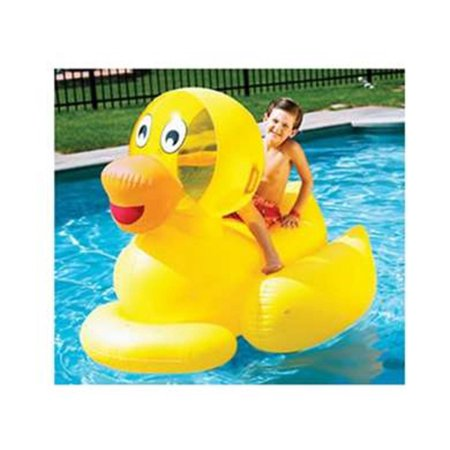60 Water Sports Inflatable Giant Ducky Swimming Pool Ride On Float Toy