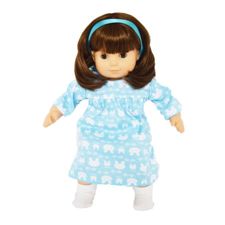 My Brittany's Bunny Nightgown For American Girl Doll Bitty Twins and Bitty Baby Sheer Baby Doll Nightie