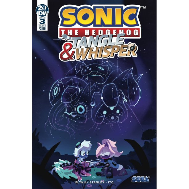 Idw Sonic The Hedgehog Tangle Whisper 3 Of 4 Nathalie Fourdraine Cover B Walmart Com Walmart Com