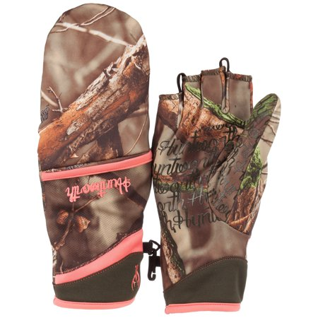 Ladies Fleece Lined Pop-Top Glove (Camouflage Lined Gloves)