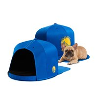 Golden State Warriors Medium Pet Nap Cap - Blue - M