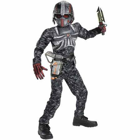 Recon Commando Boys Muscle Costume - Halloween Dips
