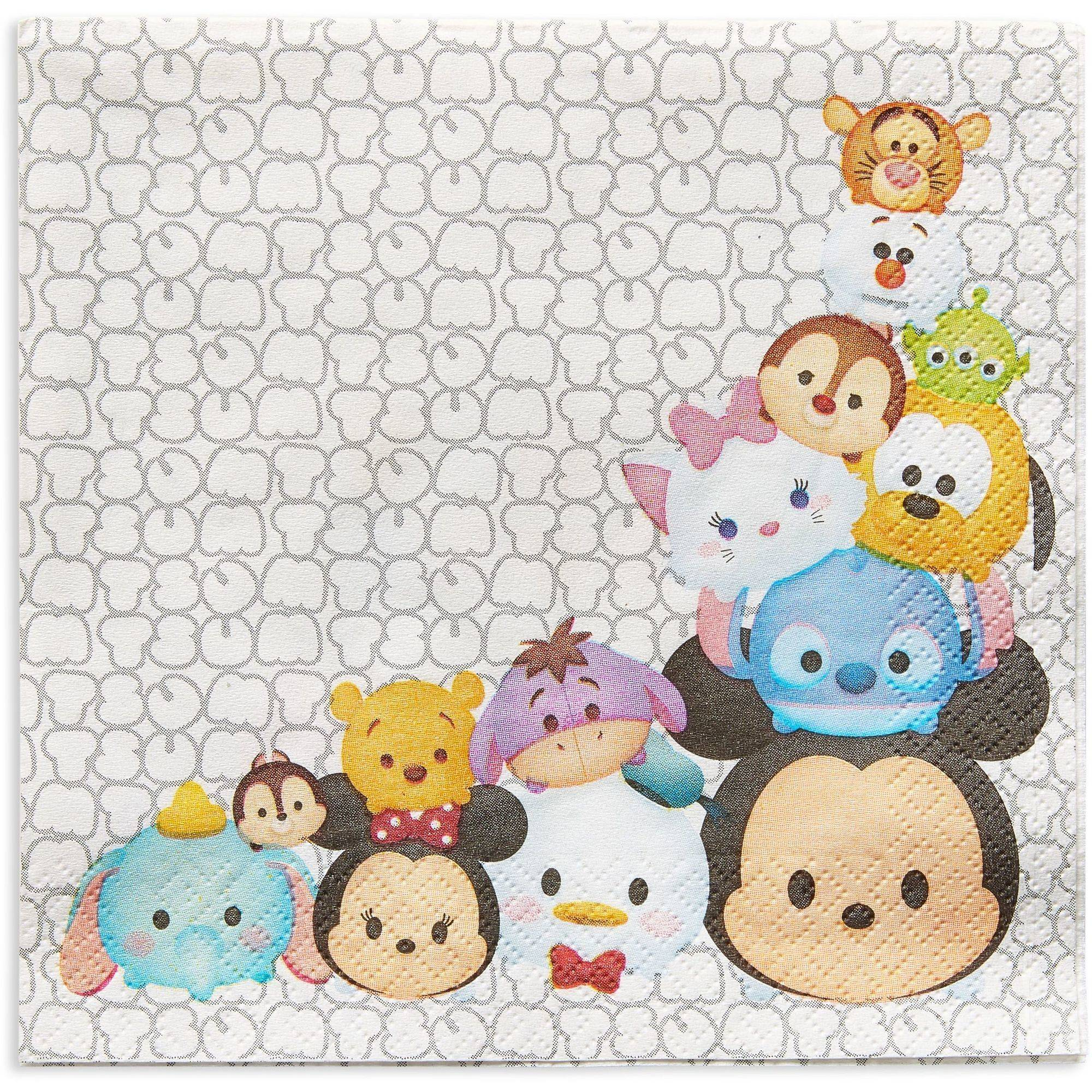 Tsum Tsum Party Paper Lunch Napkins, 16ct