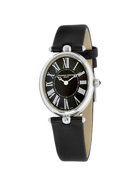 Frederique Constant Mother of Pearl Dial Satin Strap Ladies Watch FC-200MPB2V6