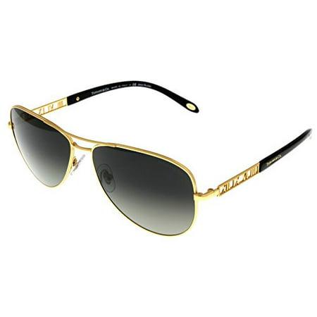 e70089ed142 Tiffany   Co - Tiffany   Co Sunglasses Women Gold Plated Aviator TF3047K  6092X1 Size  Lens  Bridge  Temple  57-14-140 - Walmart.com