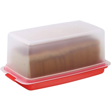 Signoraware Bread Box - Plastic Food Storage Container, Keeps Bread Fresh and great for Table (Best Bread Bin To Keep Bread Fresh)