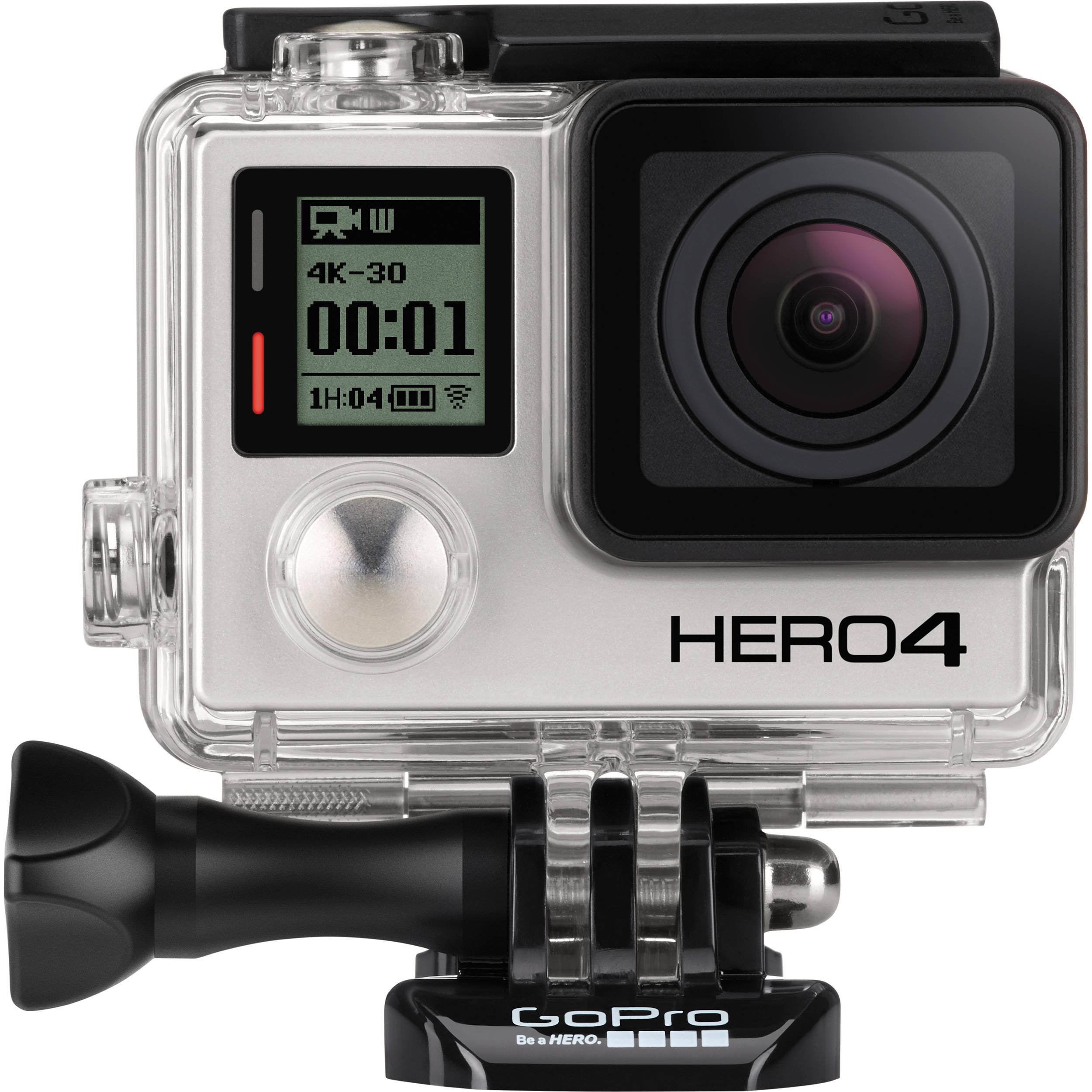 GoPro CHDHX-401 HERO4 BLACK 4K Action Camera