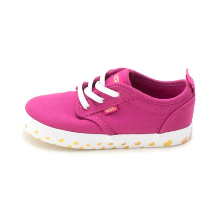 Vans Girls Atwood Slip On Z Fabric Low Top Lace Up Fashion - Vans Slip Ons Girls