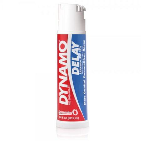 Dynamo Delay Spray 3/4oz