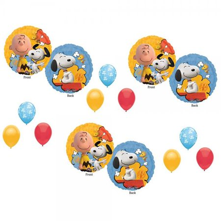 Peanuts Charlie Brown Balloons Decoration Supplies Party Snoopy for $<!---->