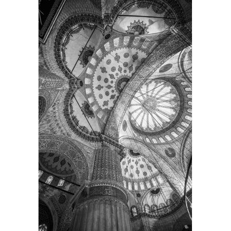 Turkey, Istanbul, Sultanahmet, the Blue Mosque (Sultan Ahmed Mosque or Sultan Ahmet Camii) Print Wall Art By Alan -
