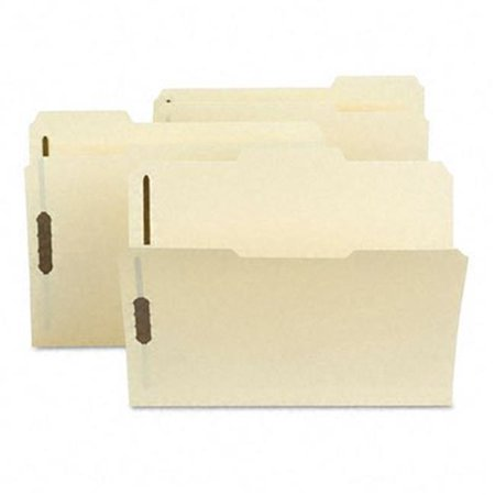 Acid-Free Poly Folder with 2   Fasteners  1/3 Cut  Top Tab  Letter  Manila Cut Two Ply End Tab