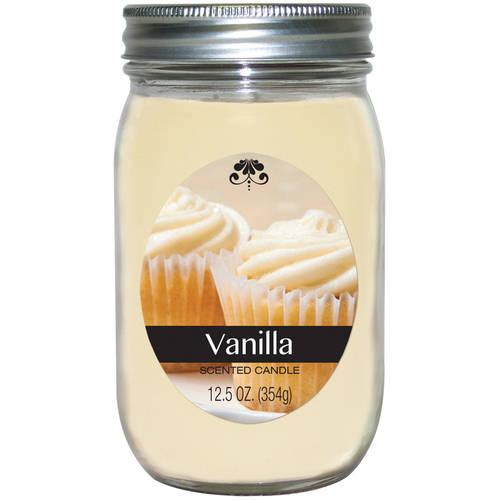 Generic Mason Jar Fragrance Pint, Vanilla