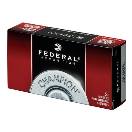 Federal Champion 45 ACP 230 Gr. Ammunition, 50/Box, #WM5233