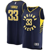 Indiana Pacers Myles Turner Fanatics Branded Youth Fast Break Player Jersey - Icon Edition - Navy