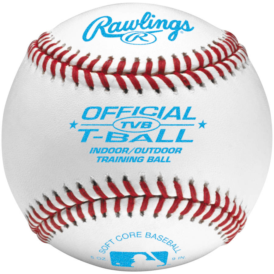 Rawlings Baseball TVB League Tee Ball (Singles) Ages 6 & Under