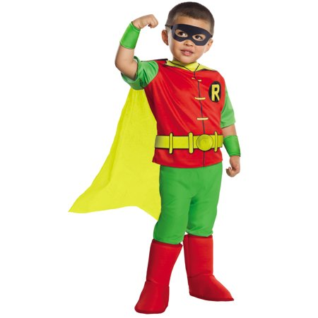 Costumes Dc (DC Comics - Robin Deluxe Toddler)