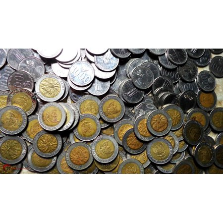 Laminated Poster Financial Coins Gold Money Metal Penny Poster Print 24 X 36