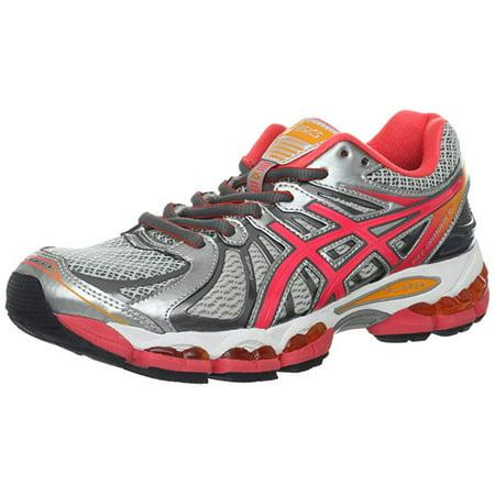 new arrivals 15f25 b10a5 ASICS Women's GEL-Nimbus 15 Running Shoe, Lightning/Punch/Marigold, 11.5 B  US