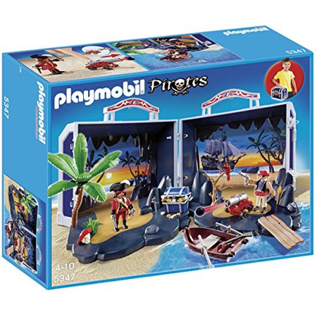 - PLAYMOBIL Pirate Treasure Chest Playset
