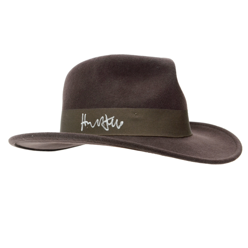 Harrison Ford Autographed Official Indiana Jones Fedora