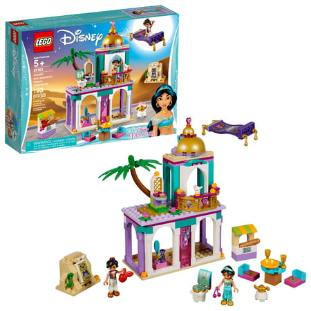 LEGO Disney Princess Aladdin and Jasmine's Palace Adventures 41161