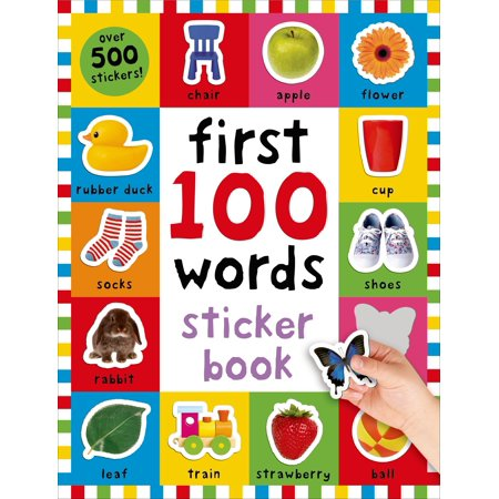 First 100 Words Sticker Book : Over 500 Stickers